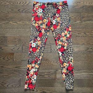 Floral & Leopard Leggings / Tights